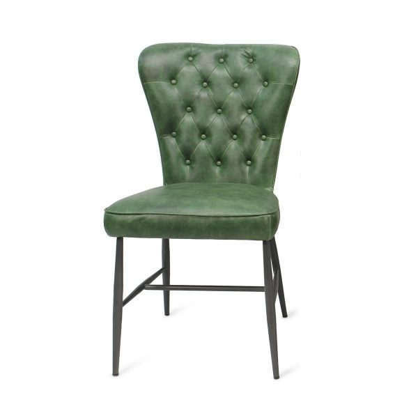 Restaurant chairs green Nordich model.