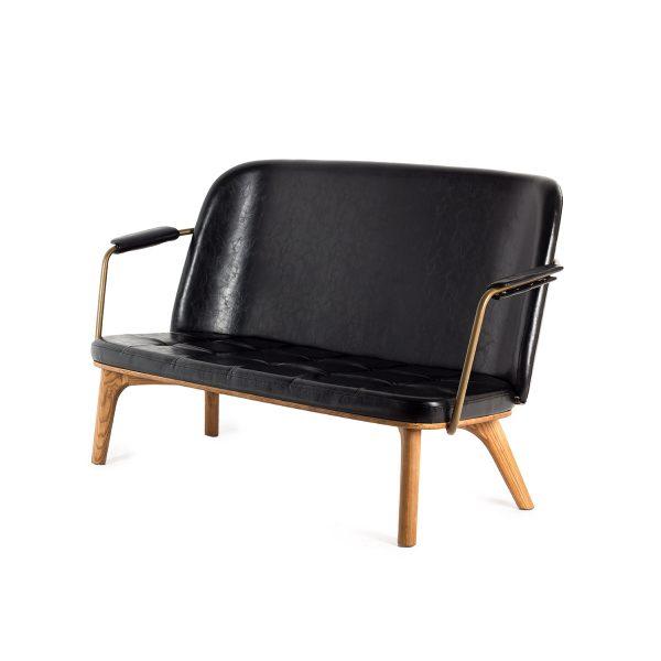 Retro design sofas.