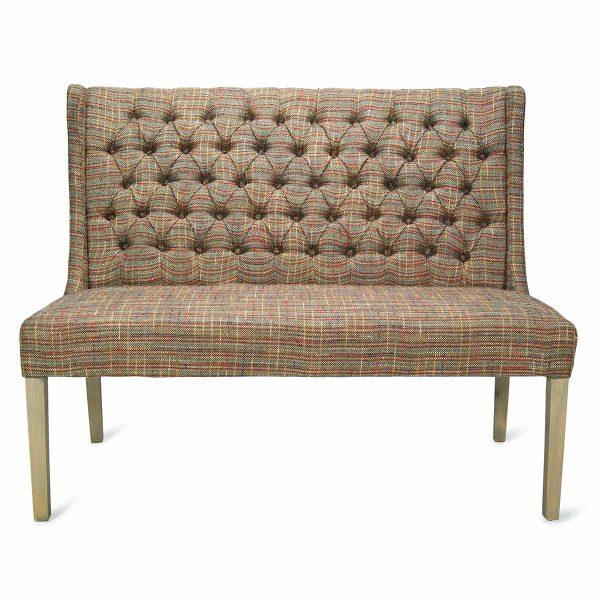 Upholstered seating booths Lara.