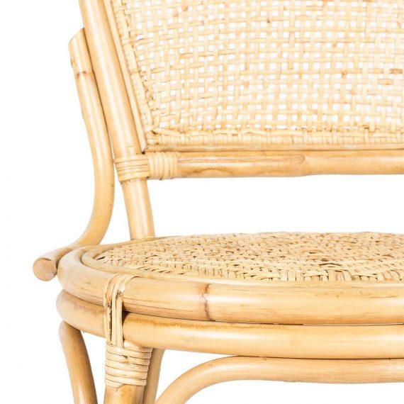 Detalle de las sillas de exterior Singarope.
