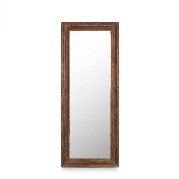 Espejo madera antiguo.