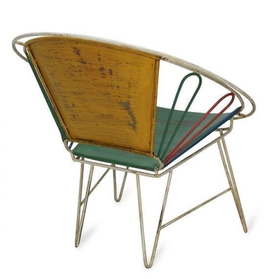 Hotel retro chair.