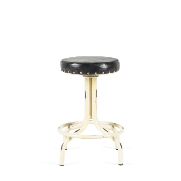 Low bar stool.