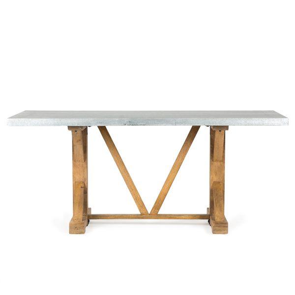 Mesas rectangulares.
