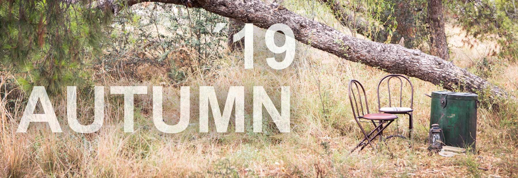 Mobilier vintage collection automne de la marque Francisco Segarra.