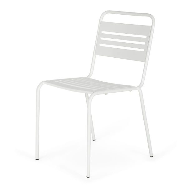 Olimpia:collection of outdoor tables and chairs.