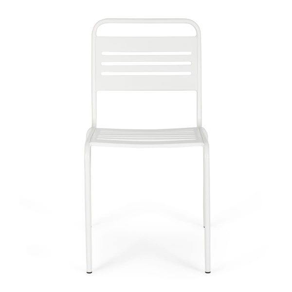 Patio chairs.