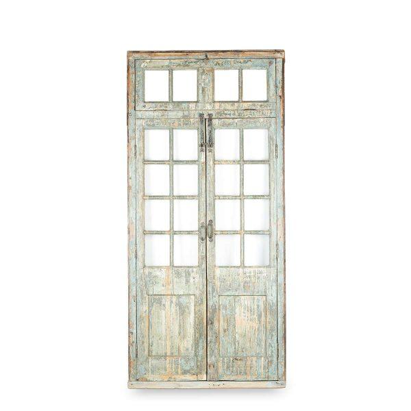Puertas antiguas de madera.