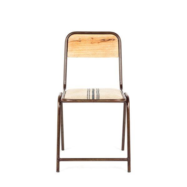 Restaurant chairs.
