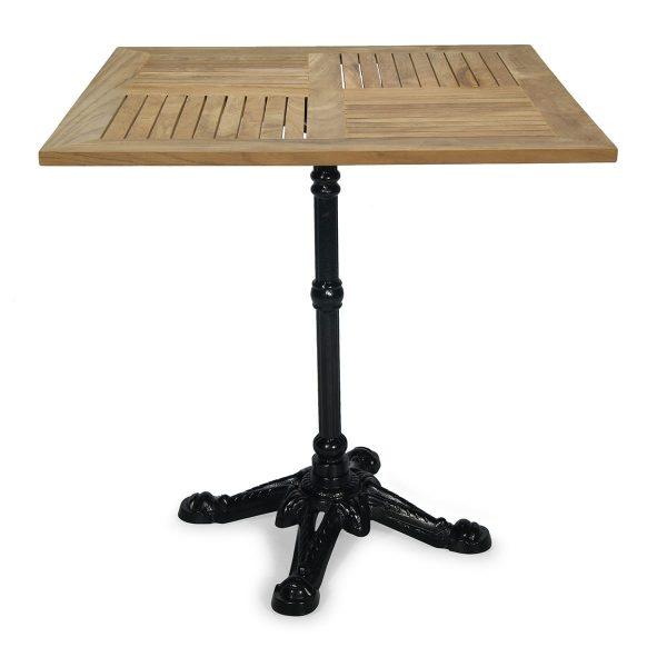 Square terrace table Borneo.