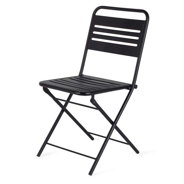 Terrace hospitality chairs.