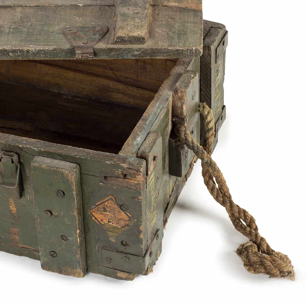 Picture of: Old Military Trunks For Commercial Decoration In Shops