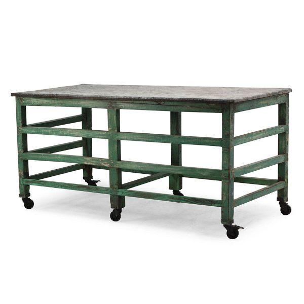 Display tables.