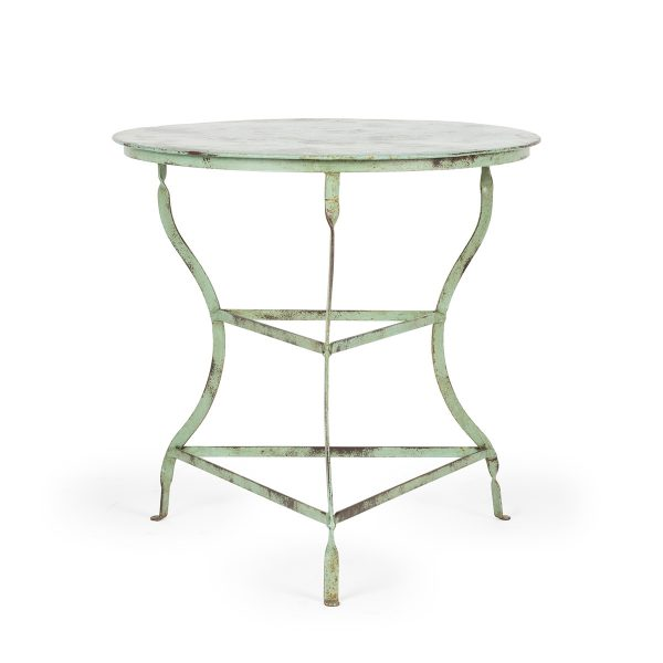 Forged steel tables, green Hosoya.