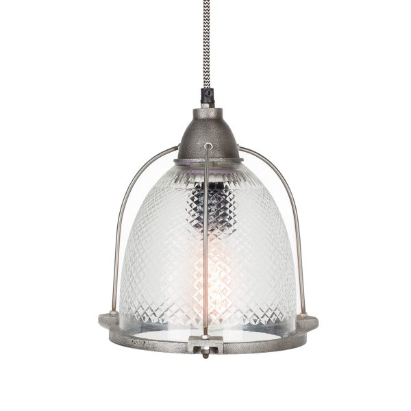 Industrial vintage pendant lamps.