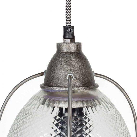 Détail de la lampe suspendue modèle Nerja.