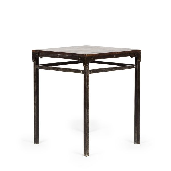 Square bar table.