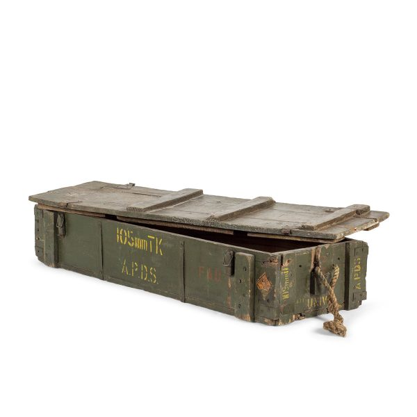 Vintage military trunk.