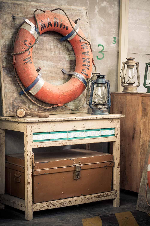 Antigüedades muebles.
