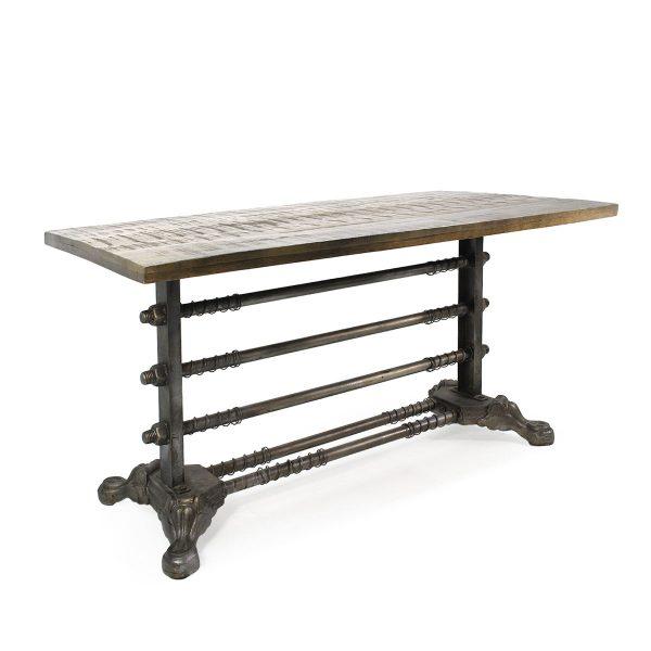 Industrial look table.