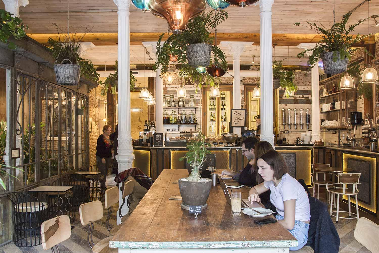 Interiorismo para cafeterías en Madrid.
