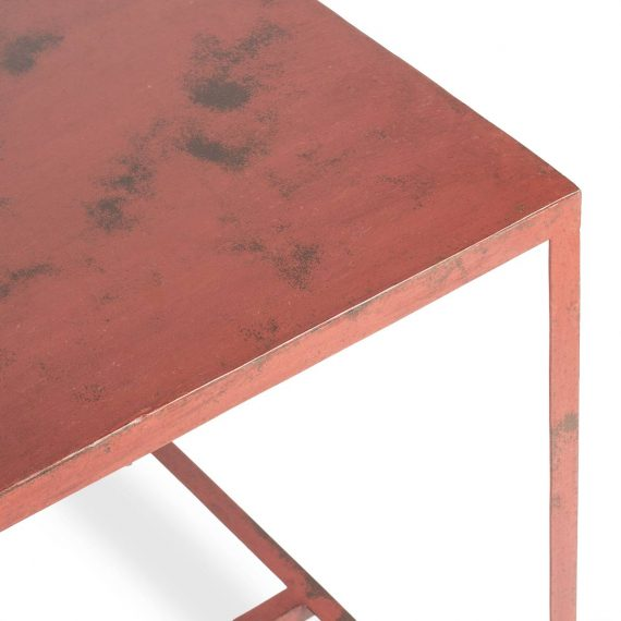 Metallic table Bercy model.
