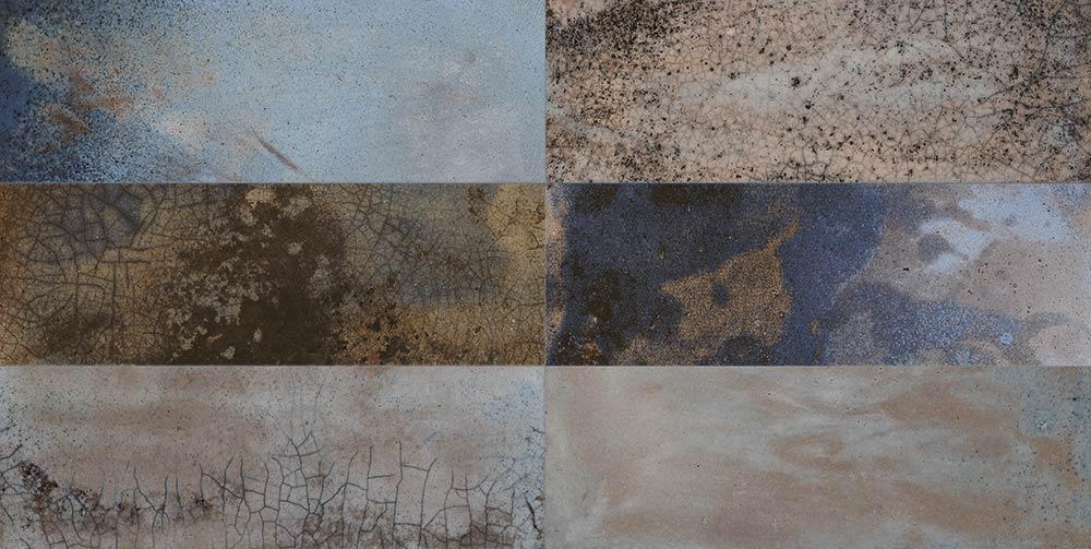Raku Wall Tile Set
