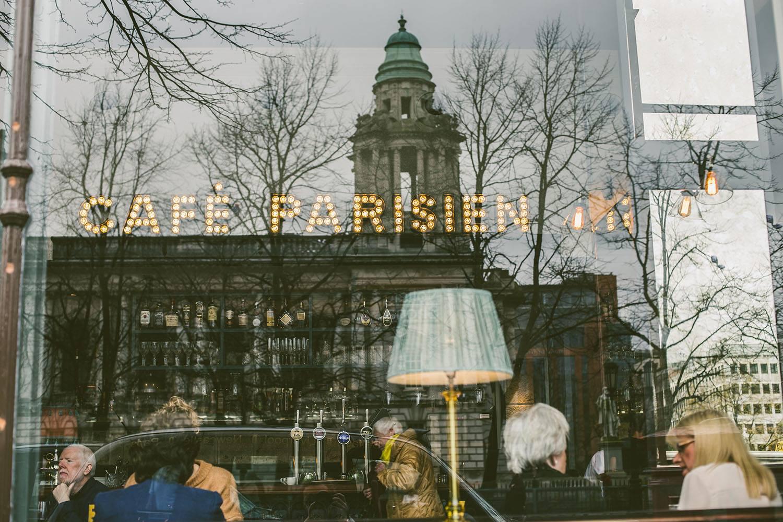 Café Parisien. La cafétéria inspirée du Titanic.