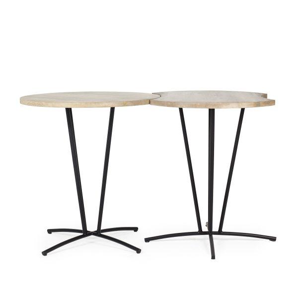 Mesas de cafetería Apple.
