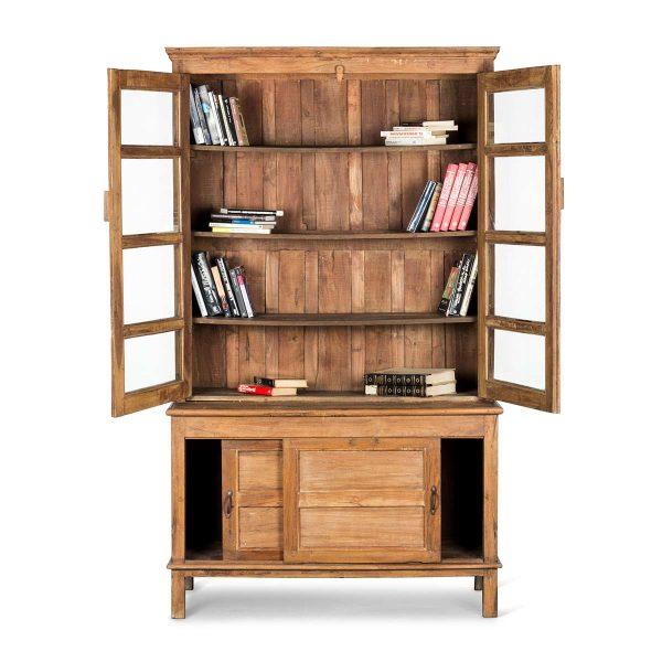 Meuble aménagement librairie.