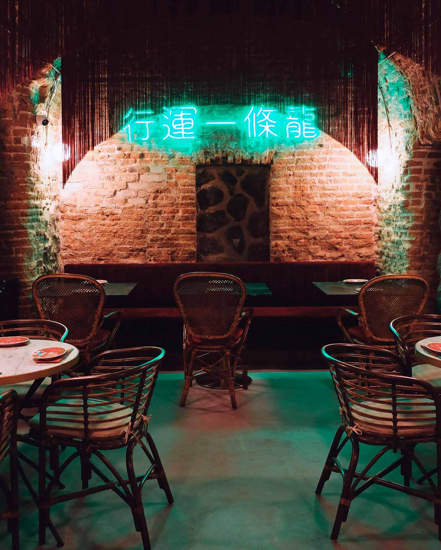 Projet décoration restaurant chinois.