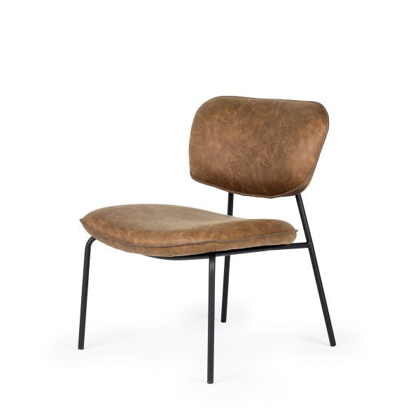 Upholstered contract armchairs.