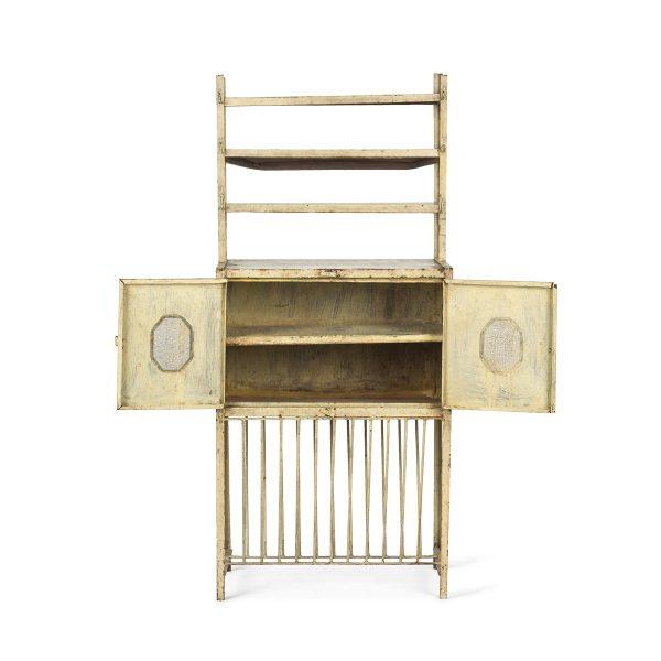 Antique cupboards for commercial interior design.