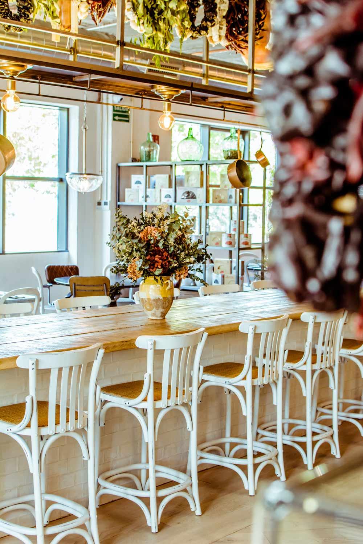 Diseño de interiores del restaurante l'Angoletto.