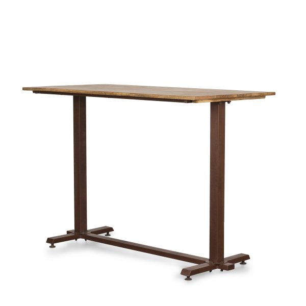 High rectangle table.