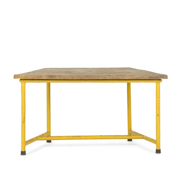 Low height coffee table.