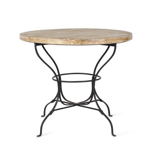 Round café tables.