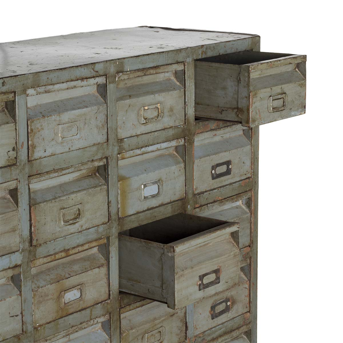 Picture of: Antique Metal File Cabinet Industrial Decoration