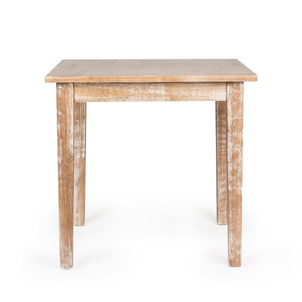 Table carrée.
