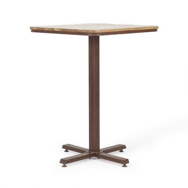 Tables hautes pour cafétéria.