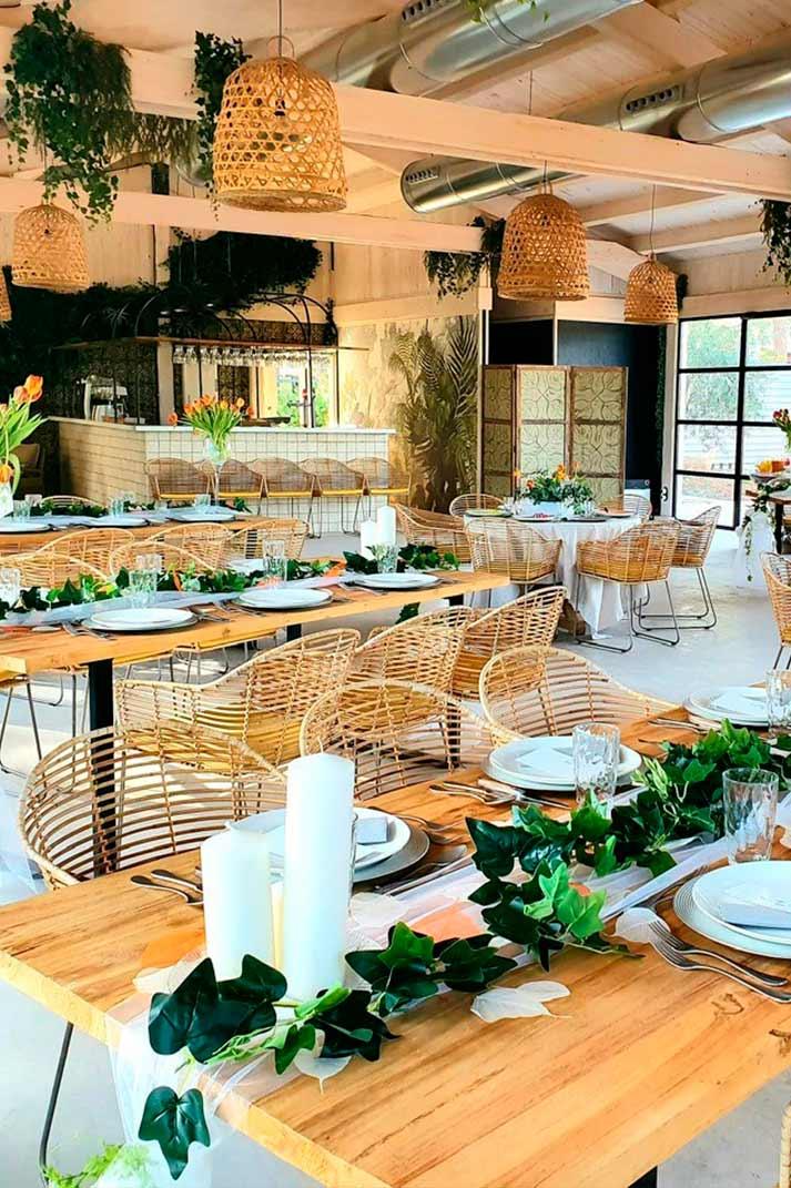 Asesoramiento interiorismo restaurantes.