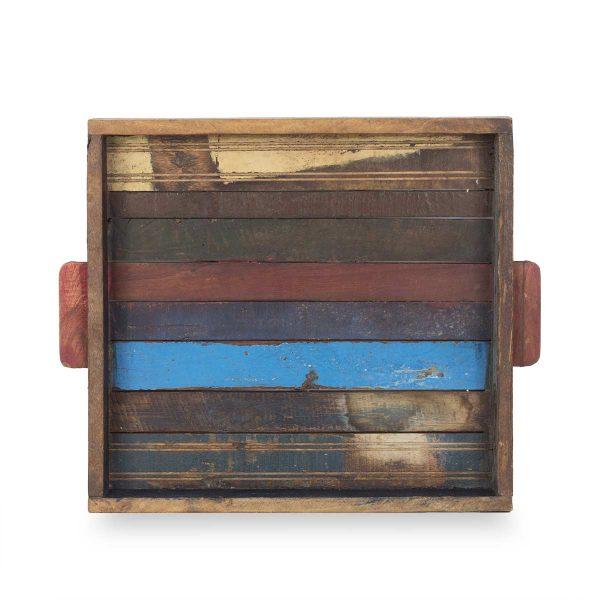 Bandejas de madera.