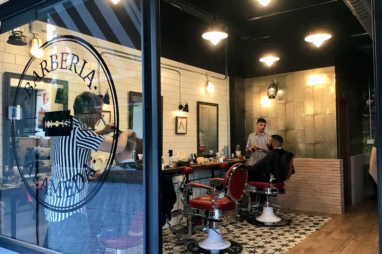 Barbería Alameda.