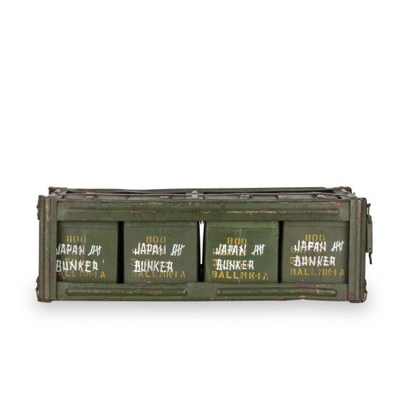 Cajas de munición antiguas.