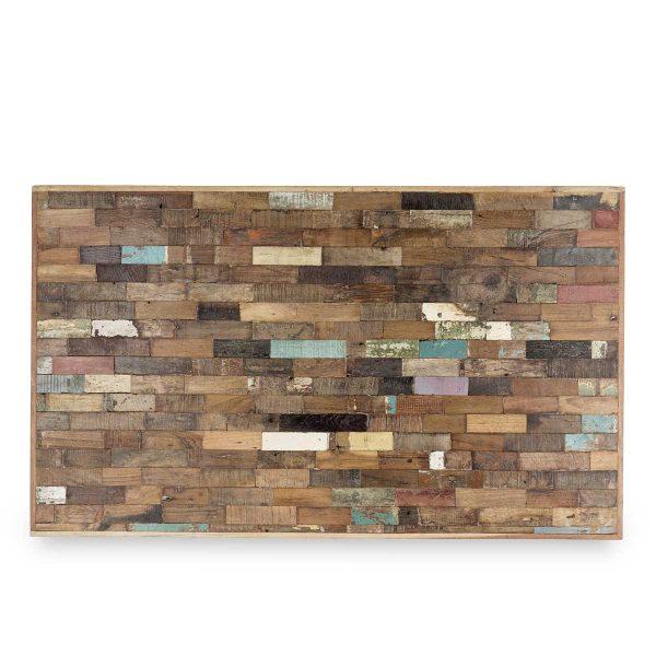 Paneles de madera para paredes interiores.