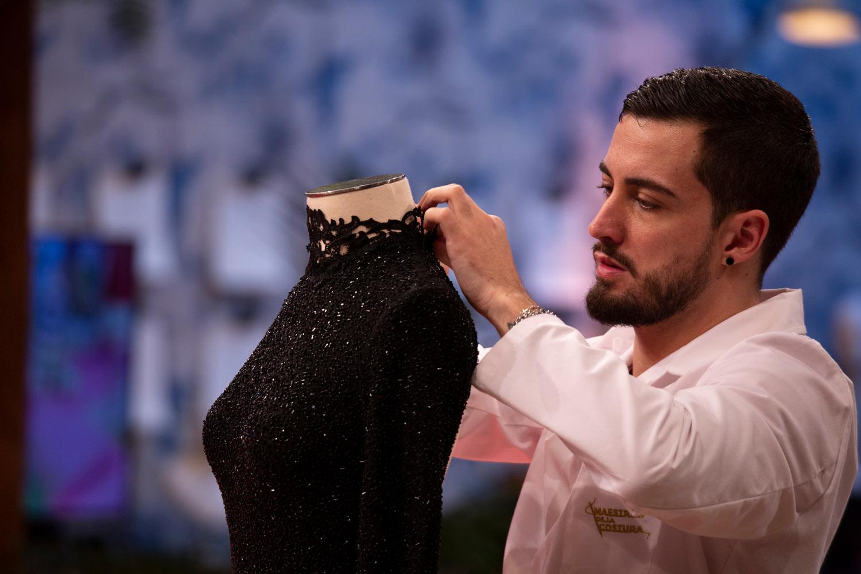Joshua, gagnant des Maitres de la Couture.