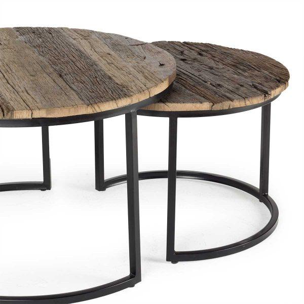 Mesas bajas para hostelería.