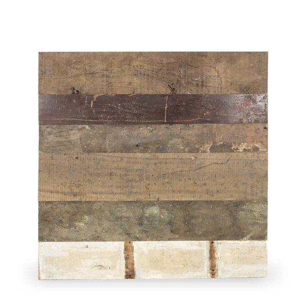 Panel en bois.
