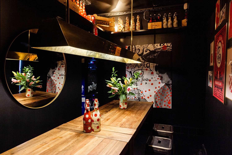 Decoración de interiores para restaurantes.