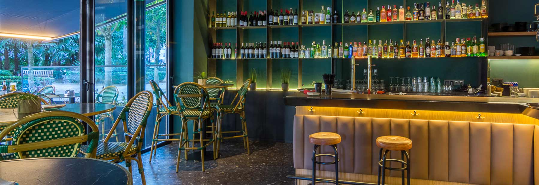 Projet restaurant Garden Vigo.